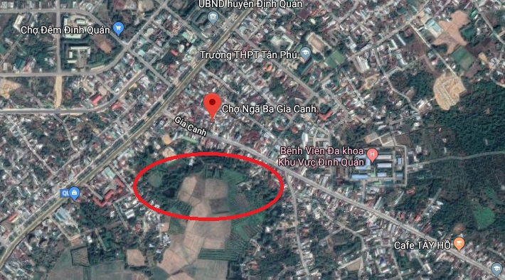 Đồng Nai duyệt quy hoạch 1/500 khu dân cư gần 20ha tại chợ ngã ba Gia Canh cho nga ba gia canh 1572690218