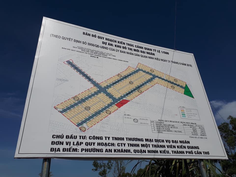 Cần Thơ chấp thuận đầu tư KDT Đại Ngân hơn 6ha ở Ninh Kiều kdc daingan can tho 1573232738