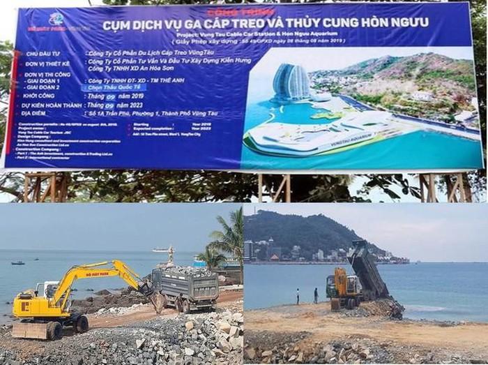 UBND Bà Rịa – Vũng Tàu: Yêu cầu chủ đầu tư không thực hiện việc đào đắp san gạt mặt bằng ở Hồ Mây Park lan bien homay 1573235590