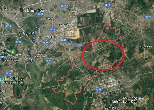 Đồng Nai: Duyệt quy hoạch 1/5.000 Phân khu D1 hơn 1800 ha ở Biên Hòa phan khu d1 1573745853
