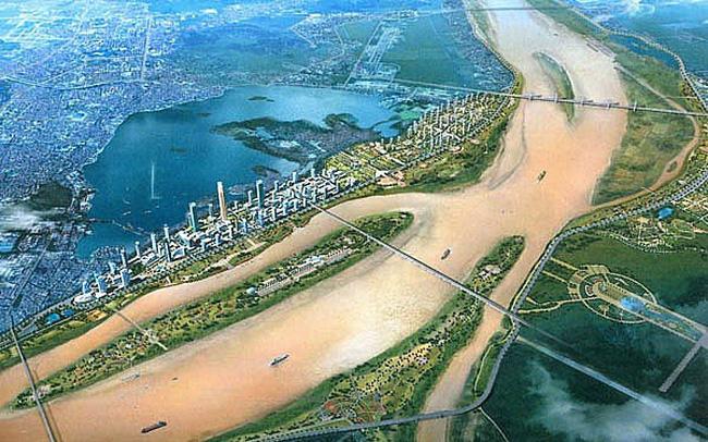 Đề án cải tạo hai bên sông Hồng tiếp tục caitaovensonghong 1574149315