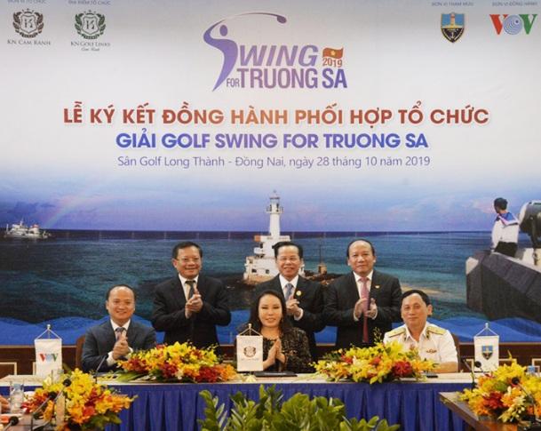 Hành trình biển ngọt tại giải gôn Swing for Truong Sa 2019