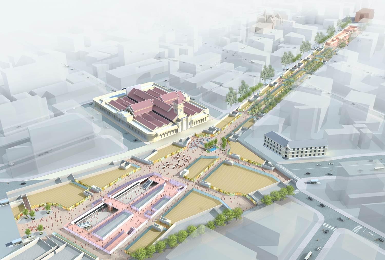 """Duyệt Nhiệm vụ tuyển chọn """"Ý tưởng thiết kế đô thị và không gian ngầm khu vực nhà ga Bến Thành"""" nha gangam 1574865852"""