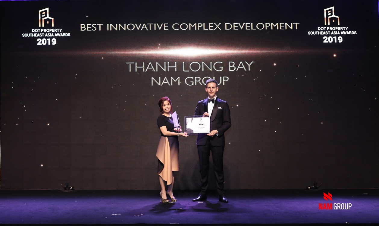 Nam Group thắng lớn tại Dot Property Southeast Asia Awards 2019