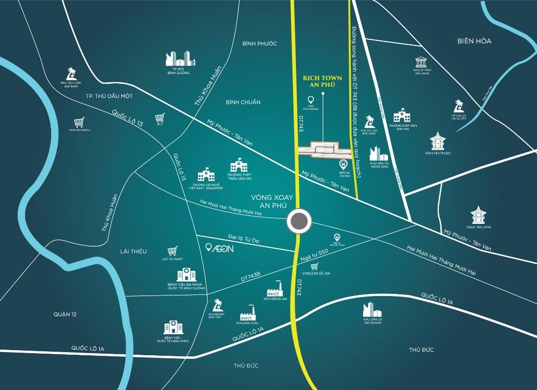 Kết quả hình ảnh cho Thuận An trở thành đô thị loại II
