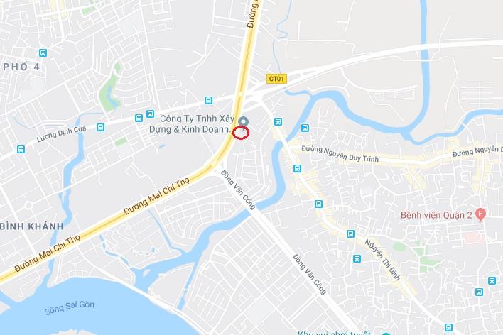 Hơn 13.000 m2 đất vàng đường Mai Chí Thọ về tay doanh nghiệp lợi nhuận dưới 1 tỷ đồng vi tri khu nha o doc lap green diamond 1577297557