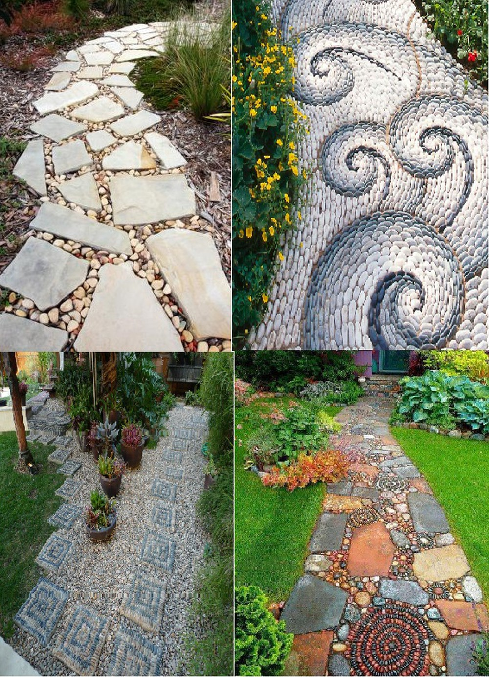 Gạch lát sân vườn đa dạng, nhiều mẫu mã