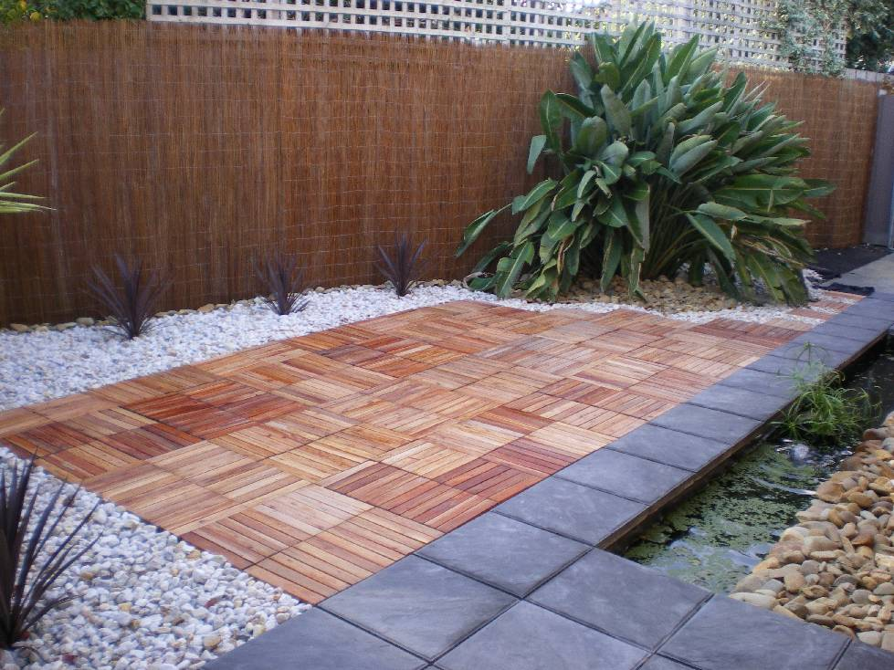 Gạch gỗ composite
