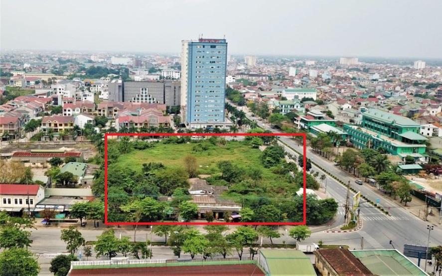 Nghệ An: Khu đất vàng thành phố Vinh bỏ quên 13 năm sắp được hồi sinh?