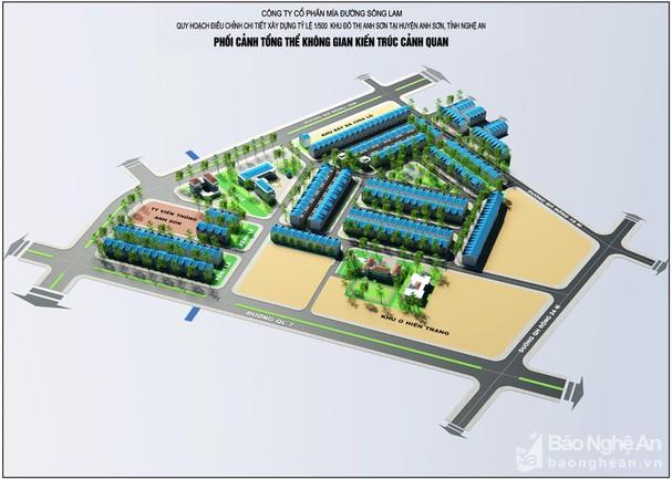 Tăng mức đầu tư gấp 3, khu đô thị mới Cây Chanh tại Nghệ An vẫn vắng bóng nhà đầu tư