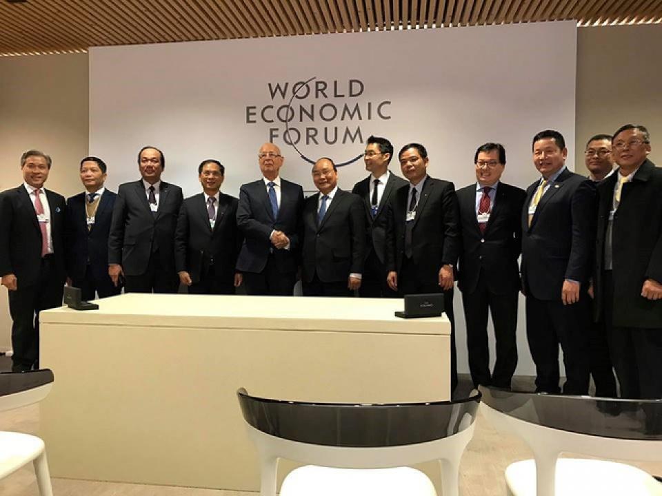 Thủ tướng Nguyễn Xuân Phúc tham dự WEF tại Davos