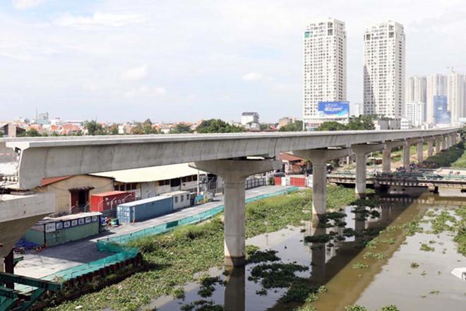 Điều chỉnh thổng mức đầu tư Dự án đường sắt đô thị TP. HCM