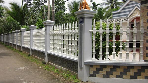 Kết quả hình ảnh cho Kỹ thuật xây tường rào và nguyên tắc ngầm bạn cần biết