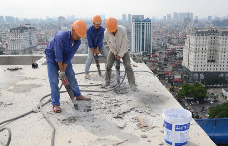 Điều chỉnh giấy phép xây dựng khi đang thi công?