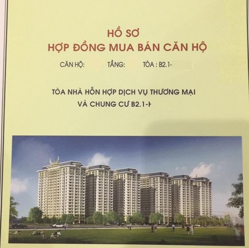 Tuyệt đối không giao bản gốc hợp đồng mua bán căn hộ cho chủ đầu tư