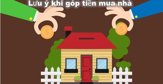 Lưu ý góp tiền mua nhà cùng người yêu