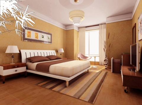 phong thủy, kê giường ngủ, phòng ngủ hiện đại