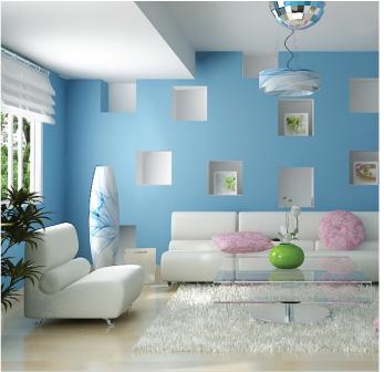 mauxanhdatroi 1394034132 Màu sắc hợp phong thủy giúp cân bằng không gian sống nhà bạn
