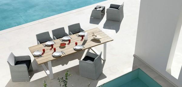 Ý tưởng cho bàn ăn ngoài trời