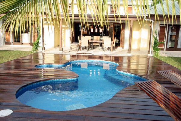 Làm đẹp sân nhà với một hồ bơi nhỏ