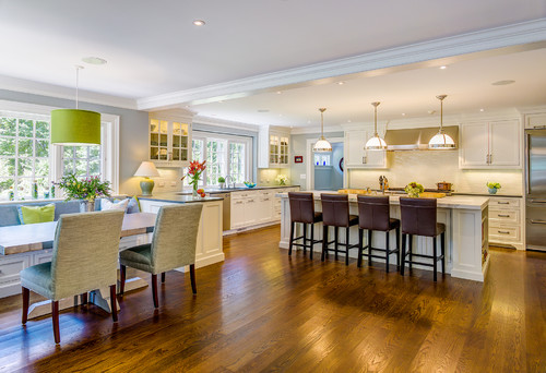 Bếp liền kề phòng khách, xây sao cho đẹp?