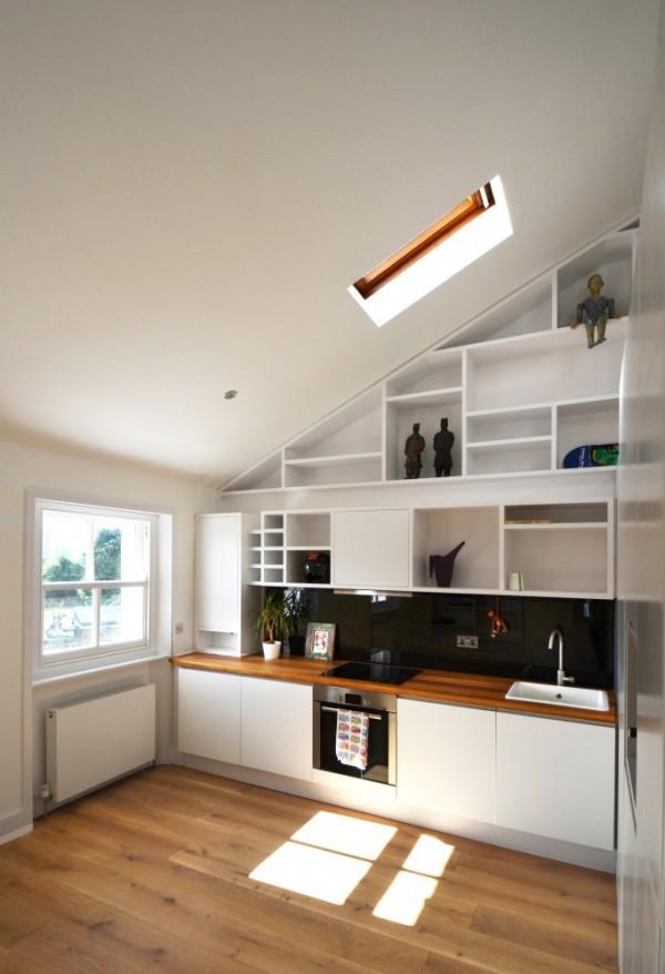 very low attic ideas - Bài tr gác xép để có không gian sống thoải mái