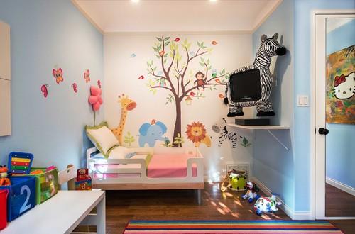 Không gian vui chơi cho trẻ trong thiết kế nhà phố