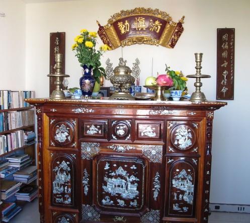 043446baoxaydung 24 1411402354 Cách bố trí bàn thờ mang lại may mắn, thịnh vượng cho gia chủ