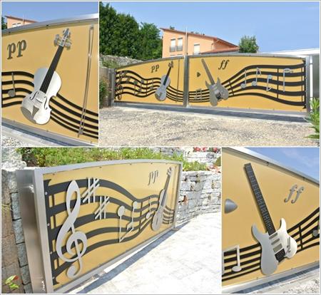 Những cánh cổng có thiết kế độc đáo