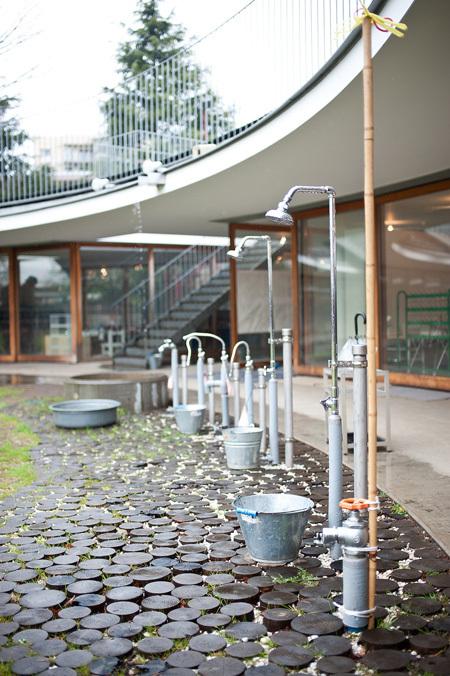 Trường mầm non có thiết kế độc đáo ở Nhật Bản