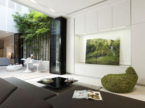 Ngôi nhà phố thiết kế thông minh tại Singapore