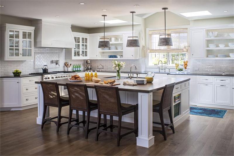 8 ý tưởng làm đẹp cho phòng bếp màu trắng