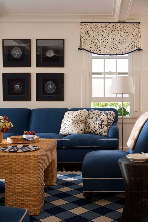 Phối màu xanh da trời với nhiều sắc thái cho nhà thêm đẹp