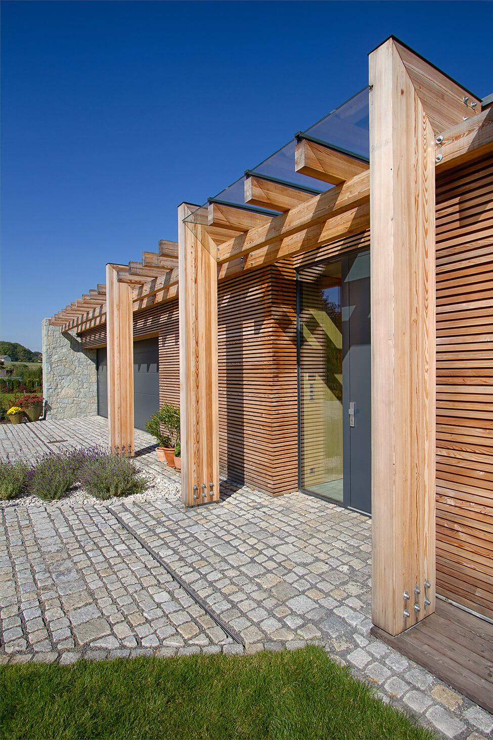 Nhà đẹp chỉ bằng gỗ, đá và cỏ ở Cộng hòa Séc