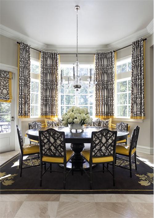 Chọn rèm cửa phù hợp với không gian trong nhà