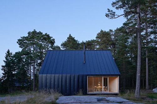Ngôi nhà gỗ xinh đẹp bên quần đảo Stockholm