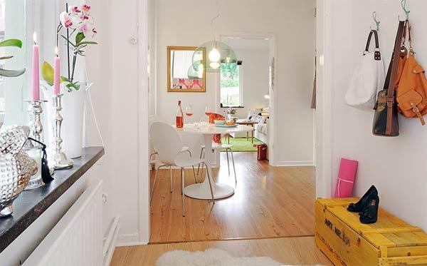 Căn hộ 41,5 m2 có thiết kế tuyệt vời và thực tế