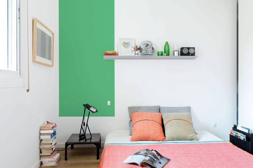 Căn hộ đầy màu sắc dành cho vợ chồng trẻ