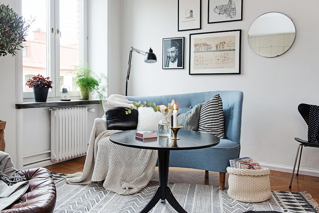 Ấn tượng căn hộ Studio phong cách Thụy Điển
