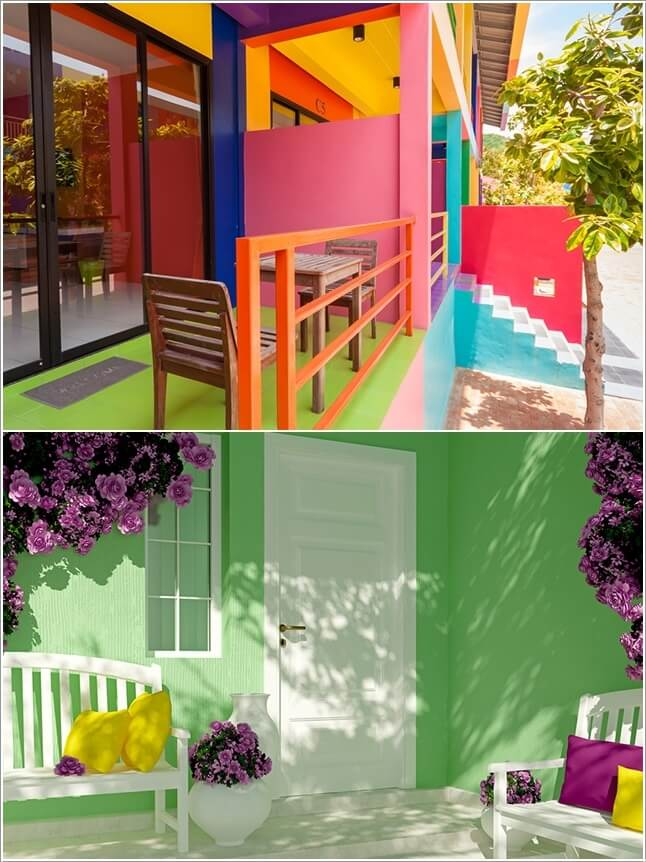 ngoai that11cafeland 1471625379 Thêm nhiều màu sắc nổi bật cho không gian ngoại thất