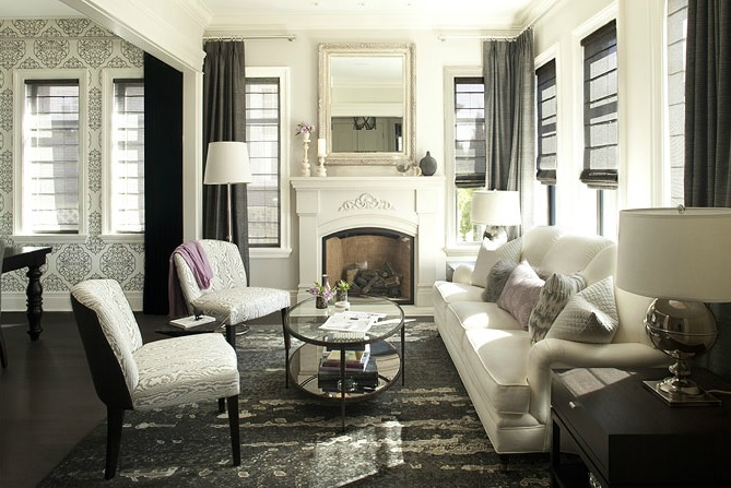 Sử dụng nội thất màu tối thế nào cho đẹp?