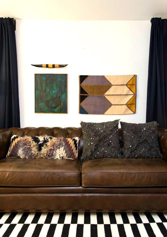 """4 1479316154 Cách biến tấu """"5 trong 1"""" cách trang trí ấn tượng cùng sofa"""