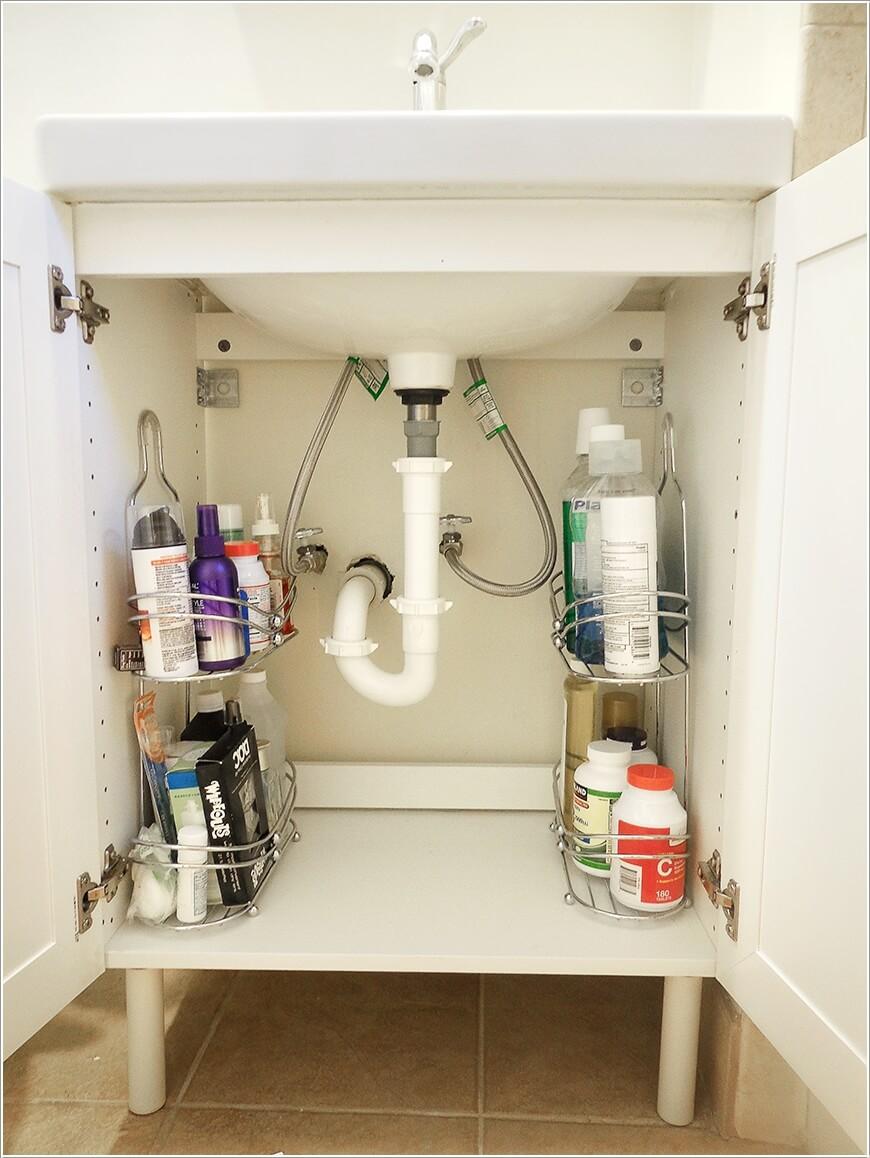 phong tam 6 1480418162 Cách để tạo không gian lưu trữ trong phòng tắm