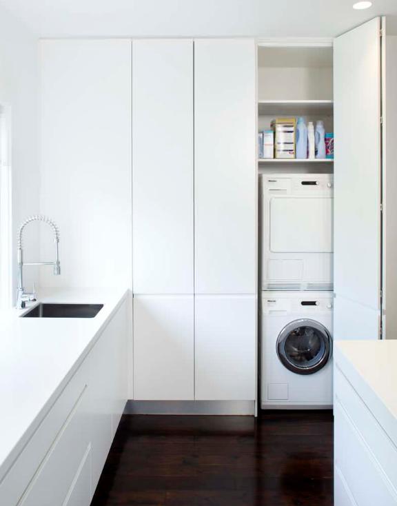 5 ý tưởng trang trí phòng giặt xua tan cảm giác mệt mỏi