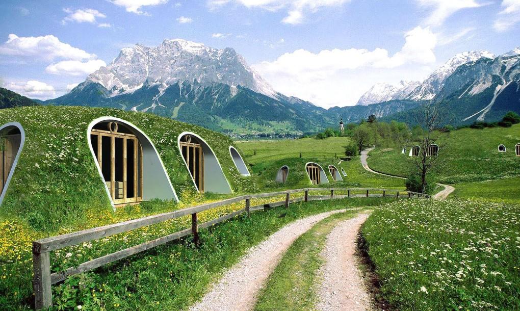 Mát mắt trước kiến trúc cụm lều áo cỏ nổi tiếng ở Mexico