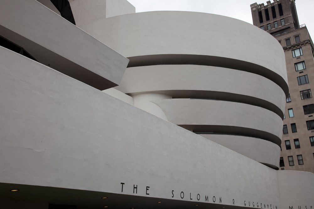 Ngắm bảo tàng hình thúng xoắn độc đáo tại New York
