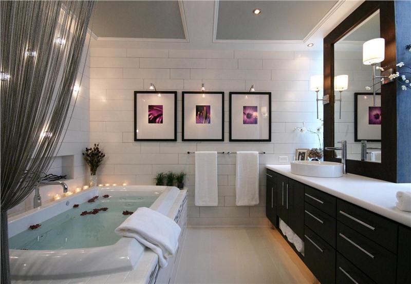 8 cách tạo sự thư giãn cho phòng tắm như spa