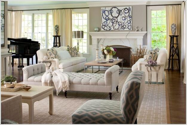 Lựa chọn nội thất trang trí cho phòng khách