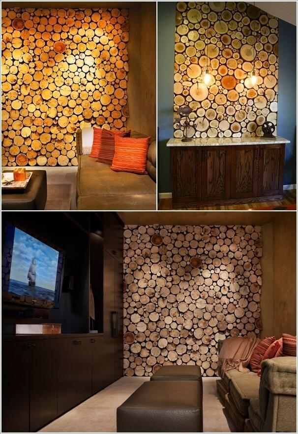 Căn nhà mộc mạc với trang trí bằng gỗ