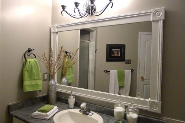 Ý tưởng nới rộng không gian cho phòng tắm